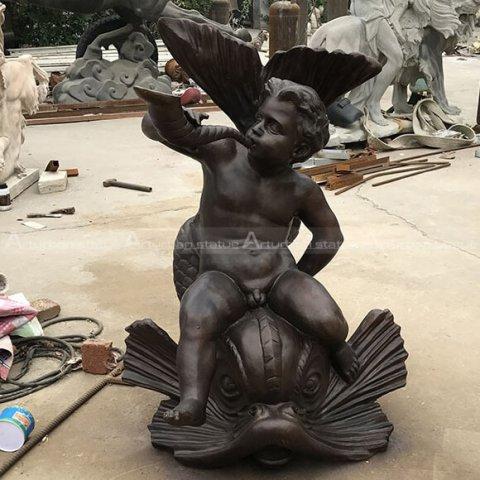 baby angel statue