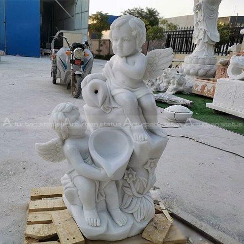 cherub angel statue