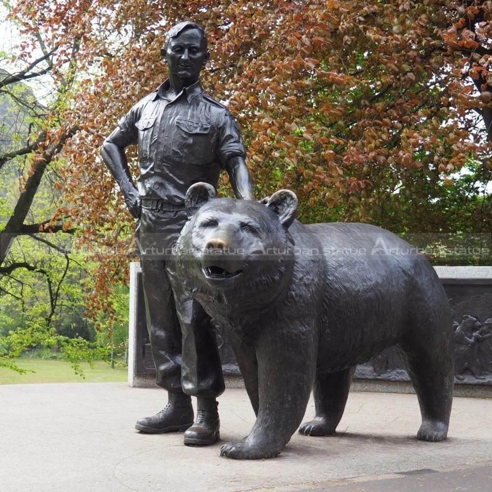 Bear garden ornament