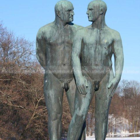 nude man sculpture