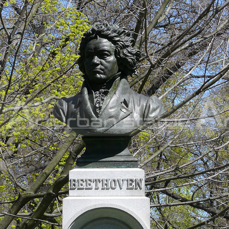 beethoven head sculpture