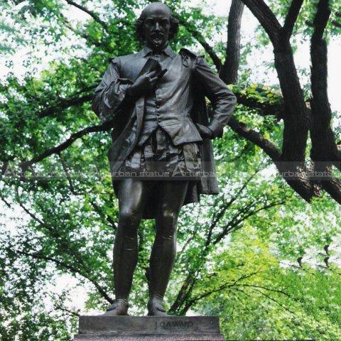 shakespeare bust statue