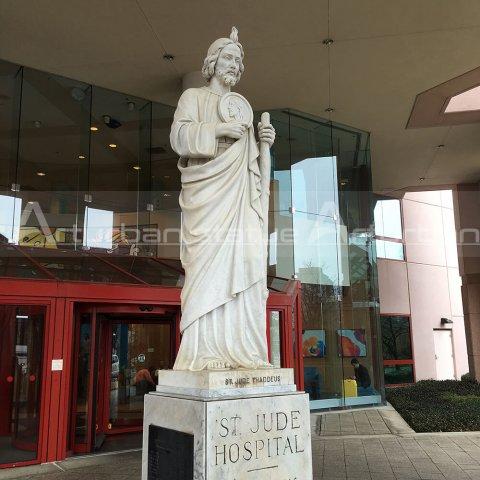 st jude garden statue