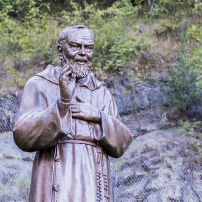 padre pio statues