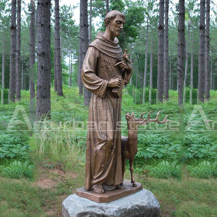Saint Francis Statue