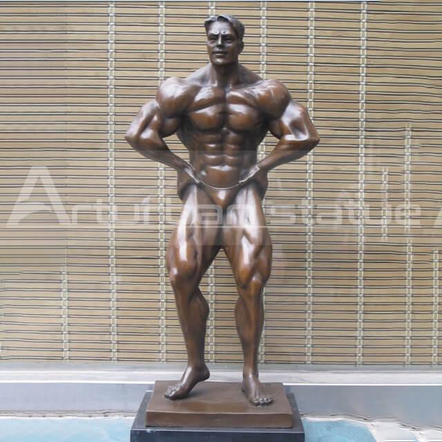 bodybuilding statue