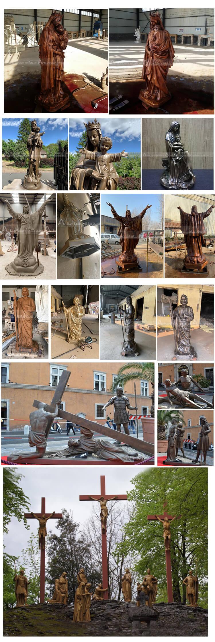 catholic statues of mary
