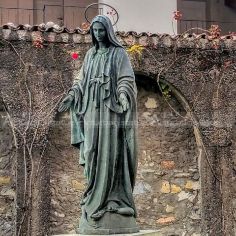 mother mary garden statue