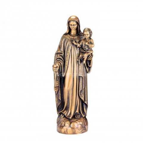famous statue of mary holding jesus