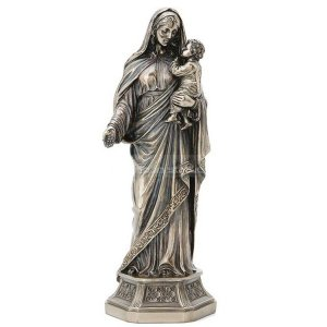 mary help of christians statue