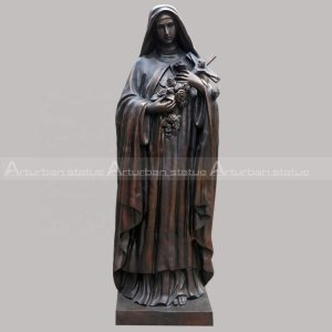 Mary Holding Christ Statue for Sale Bronze Catholic Religious Sculpture