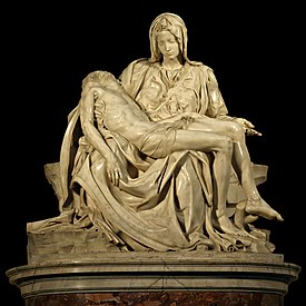 michelangelo mary and jesus statue