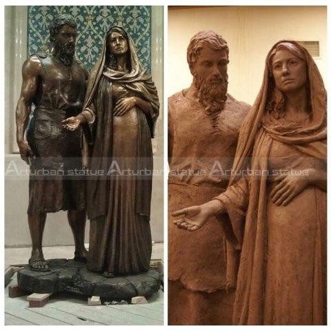 mary and joseph figurines