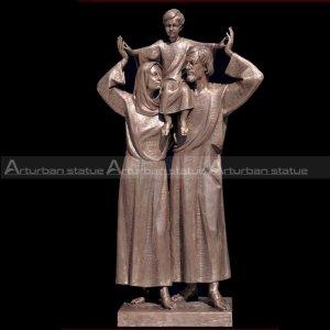 jesus mary joseph statue