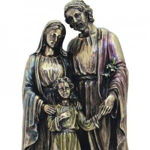 joseph mary and baby jesus statue