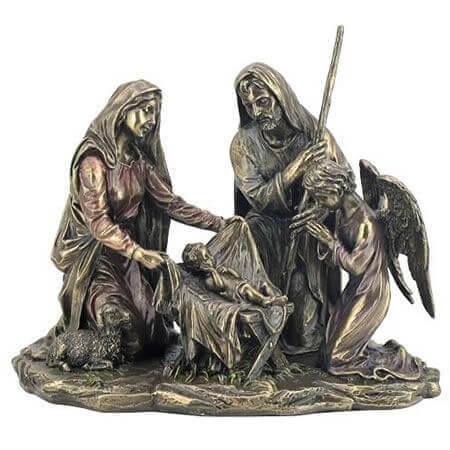 jesus mary and joseph figurines