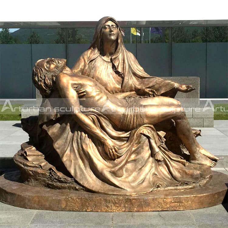 mary holding dead jesus