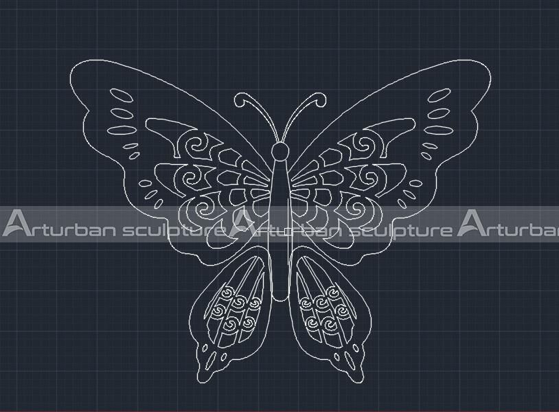 bullterfly drawing