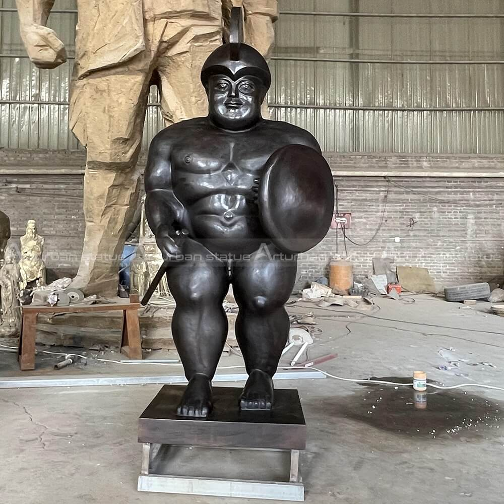 roman soldier sculpture