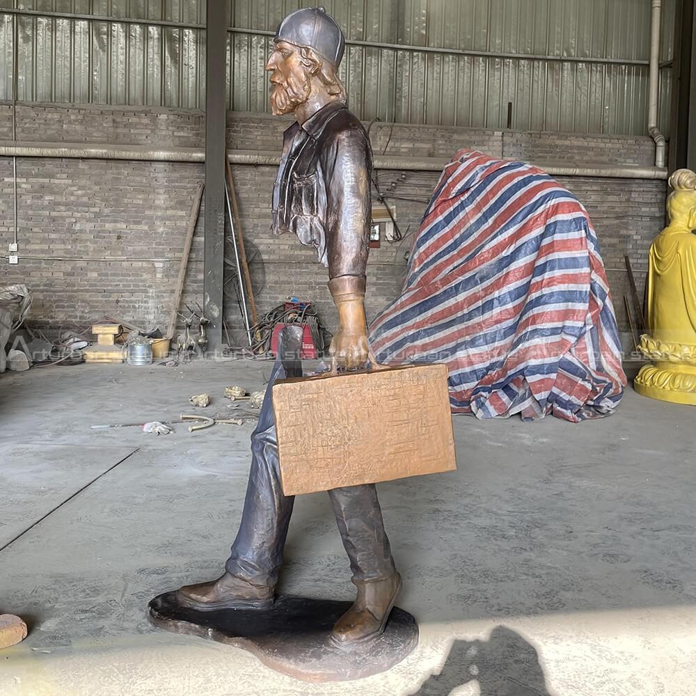 traveler sculpture